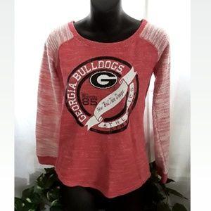 Georgia Bulldogs womens sweater...size Small